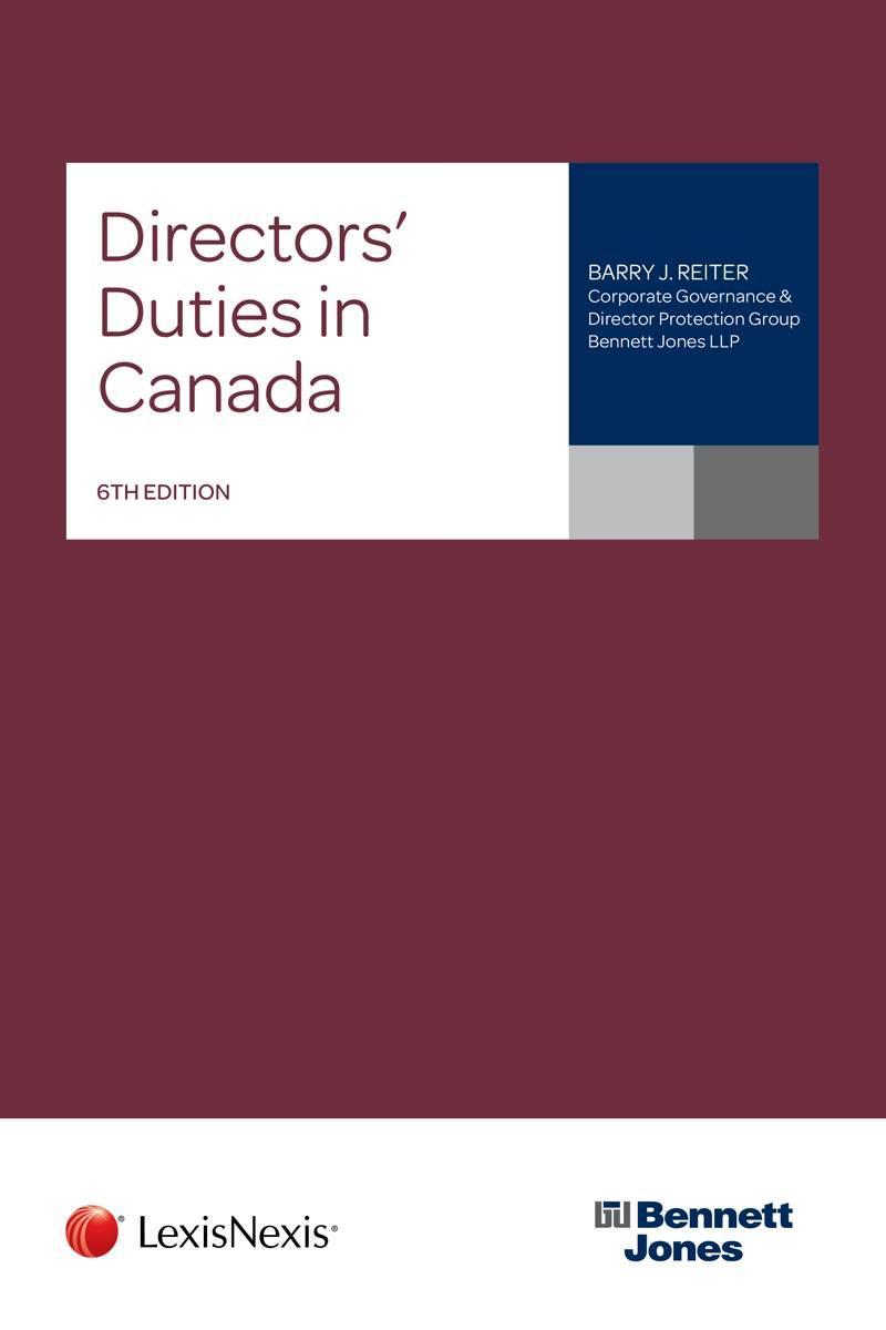 Directors' Duties in Canada, 6th Edition