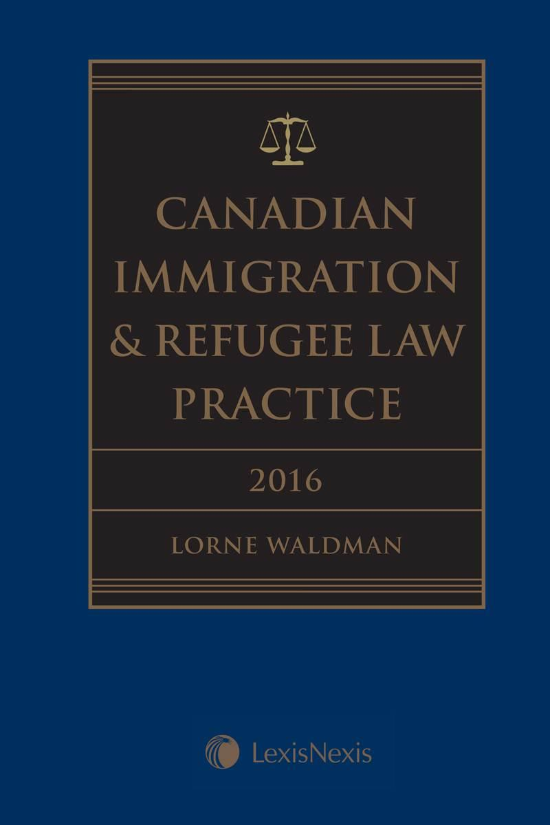 the introduction of canadian immigration act View colin r singer, lawyer  he is recognized as an experienced authority on canadian immigration  the province of ontario passed the ontario immigration act.
